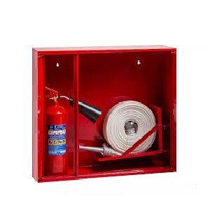Пожарные шкафы, огнетушители и первичные средства пожаротушения